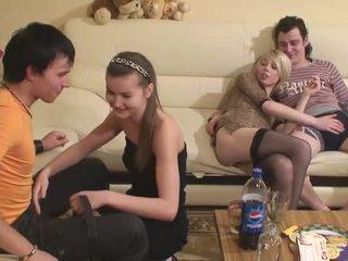 團體性交, 口交, 青少年貓他媽的