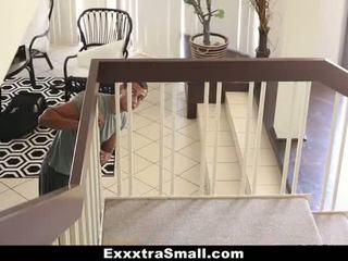 ExxxtraSmall - Tiny Twat Destroyed By ...