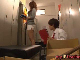Kaori seksi japonsko učitelj getting
