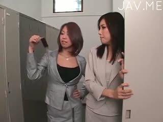 日本の, レズビアン, 運指