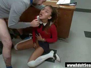 Punishment vì các nóng á châu thư ký alina li