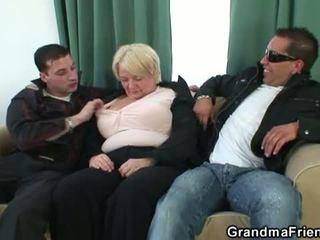 tits, big boobs, 3some