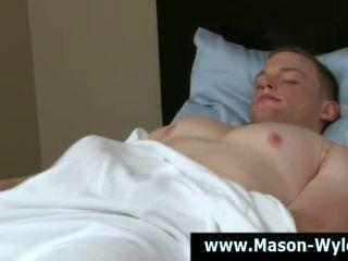 Muscle stud pornstar cock sucking
