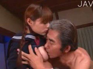 japanse, oude + young, uniform