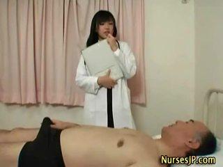 japonês, enfermeiras, japão