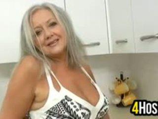 big boobs, granny, solo