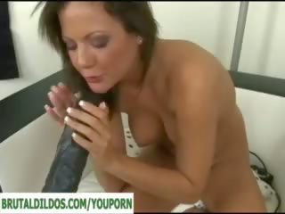 Brutal Dildo Machine Pounding