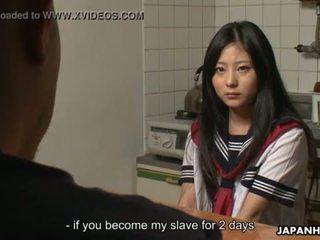 Asiatico cuttie getting creamed e lei gets scopata