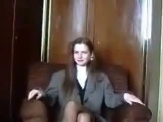 Ντροπαλός/ή λετονικό virgin είναι seduced επί camera μέρος 1