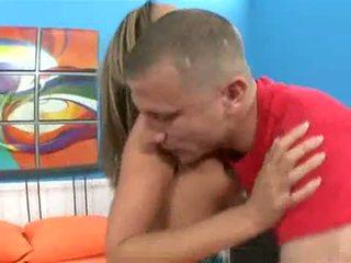Adriana Deville Takes A Deep Throat On A Long Hard Meat Ramrod