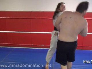Mixed Fight- Headscissor Beatdowns Trampling Humillation