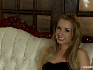 Smut Lexi Belle Masturbates Using A Device And A Toy
