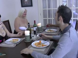Agedlove Granny Chubby Lacey Star Met Her Friends: Porn d9