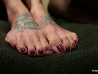 foot fetišs, kāju dievkalpojumu, kāju darbs
