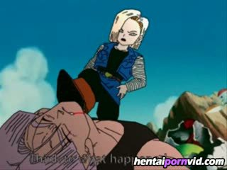 Dragon ball z hentai_ android 18 et trunks