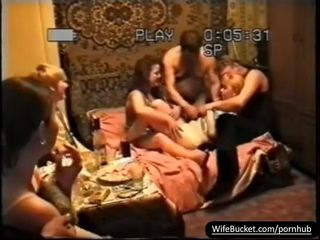 cougar, orgy, group