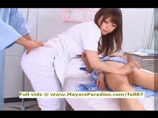 Akiho yoshizawa dari idol69 nakal asia perawat likes untuk melakukan mengisap penis