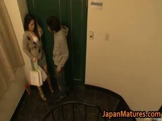 Ayane asakura rijpere aziatisch model has seks
