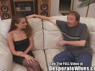 Desperate Wife Anal Training!