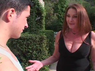brunette, big dick, big tits, brown hair, big cock, big natural tits