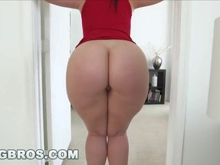 brunette, booty, thick