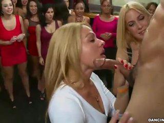 brunette, chết tiệt, hút con gà trống