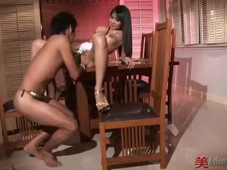 Asian Slut with Big Tits Sucks and Fuc...