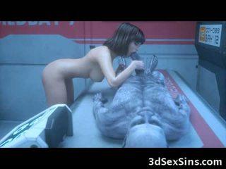 Itu 3d zombi sexperiment!