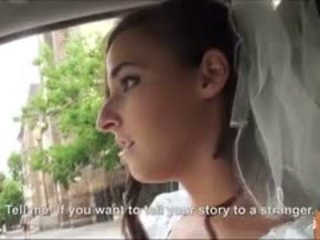 Heet bruid fucks na failed huwelijk