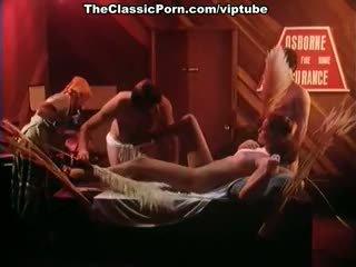 Annette haven, lisa de leeuw, veronica hart uz vintāža porno