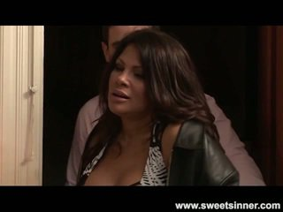 Lisa Ann Toys And Screws Her Step Son
