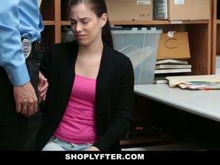 Shoplyfter - pusaudze brutally fucked par stealing records