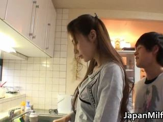 mamada, cabeza dando, japonés