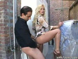 Blond mieze shyla stylez ficken ein fett wang mit sie mund