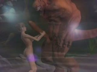 Kedi kostümü seks 3d fantasy ile demons 2