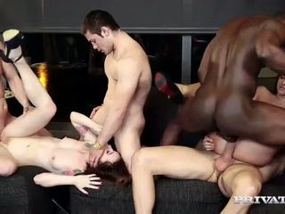 Amirah Adara and Misha Cross Have an Orgy: Free HD Porn 70