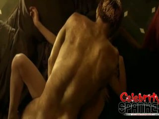 Viva Bianca Topless Wearing A Mask Spartacus Blood And Sand