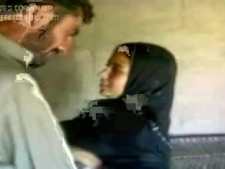 gadis, arab, panas