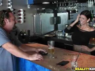 brunette, realiteit, hardcore sex