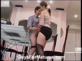 الجنس المتشددين, نضوج, الجنس الشباب القديمة