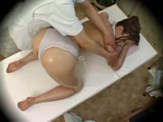 Spycam muoti malli seduced mukaan masseur 1
