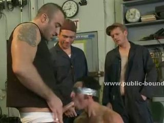 College guy punished by gay colleague