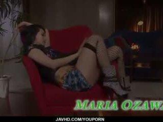 جنسي مجموعة من ثلاثة أشخاص الاباحية عمل على طول نحيل maria ozawa