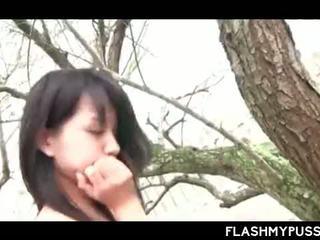 Outdoor Hardcore Asian Sex With Skinny Teen Fucking Hard