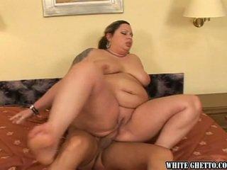 Astounding gemuk pendek likes having itu besar shaft di dalam dia anus hole