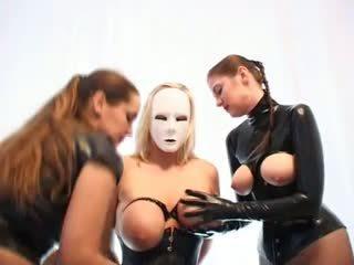 big boobs, bdsm, latex