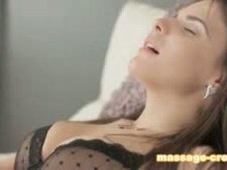 brunette, blowjob, lick