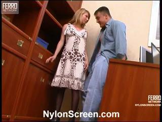 Alice và nicholas lõi cứng pantyhose phim