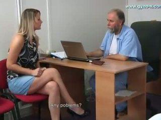 Samantha gyno esame da gynecologist