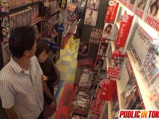 japanese, public sex, blowjob